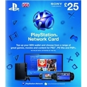 Playstation Network Card £25