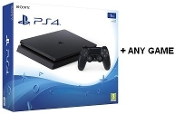 Playstation 4 Console Slim 1TB + Any Game*