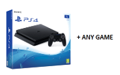 PS4 1TB Slim Console Including Any Game*