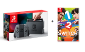Nintendo Switch - Grey including 1-2-Switch