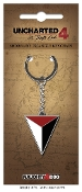 Uncharted Keychain Shoreline Triangle Logo