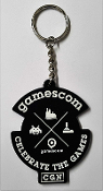 Official Gamescom 2016 Rubber Keychain