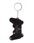 PS2 Controller Rubber Keychain