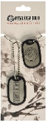 Metal Gear Solid Peacewalker Dog Tags