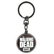The Walking Dead Metal Logo Keychain