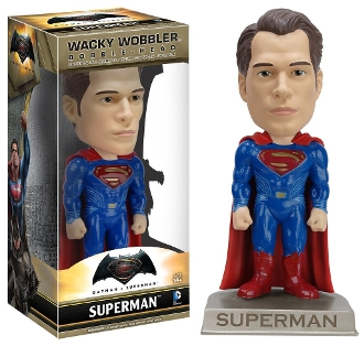 WACKY WOBBLER: BATMAN VS SUPERMAN - SUPERMAN