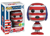 POP! ANIMATION: PEANUTS - ROCK THE VOTE SNOOPY #139