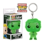 POCKET POP! KEYCHAIN: FALLOUT - VAULT BOY GREEN EXCLUSIVE