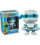 POP! TV: TEENAGE MUTANT NINJA TURTLES - LEONARDO GREYSCALE