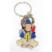 Call of Duty Zombies Monkey Bomb Keychain / Keyring