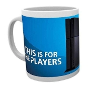 PLAYSTATION - THIS IS 4 THE PLAYERS PS4 MUG