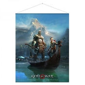 God of War Wallscroll Father and Son