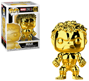 Funko Pop! Marvel Studios - Hulk (Chrome) #379