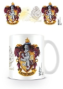 "Harry Potter ""Gryffindor Crest"" Ceramic Mug - White"