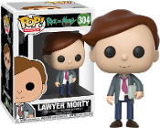 Rick & Morty Funko POP! Animation Lawyer Morty Vinyl Figure