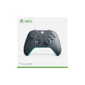 Official Xbox Wireless Grey and Blue Controller