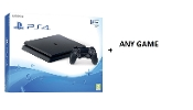 Playstation 4 Slim Console 500GB incl. Any Game