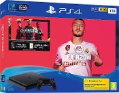 PS4 1TB Slim Console Fifa 20 Bundle