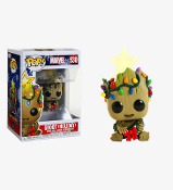 Funko POP! Marvel Holiday #530 Groot Vinyl Bobble Head