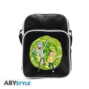 "RICK AND MORTY - Messenger Bag ""Portal""- Vinyl Small Size – Hook"