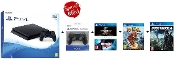 PS4 500GB Console + Extra Controller + 3 Games