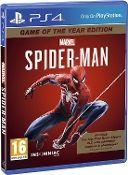 Marvel's SpiderMan Game of The Year Edition