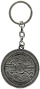 Assassin's Creed Valhalla - 3D Shield Metal Keychain