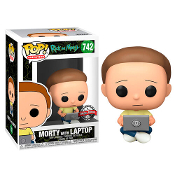 Funko Pop! Rick and Morty - Morty with Laptop #742